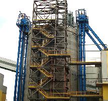 Elevadores de cangilones, transportadores de cangilones, cangilones en inoxidable, cangilones de plástico